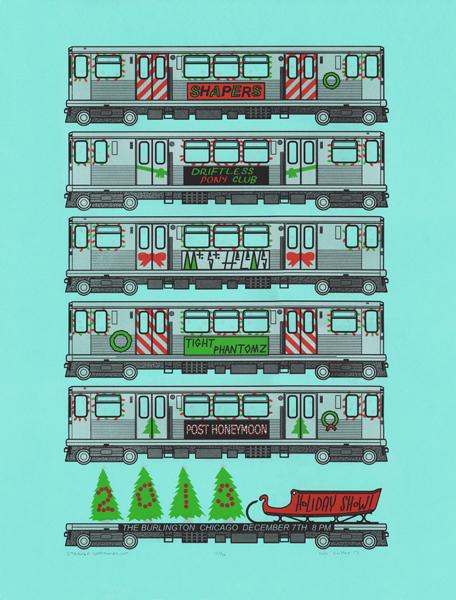 Holiday Show Screenprint